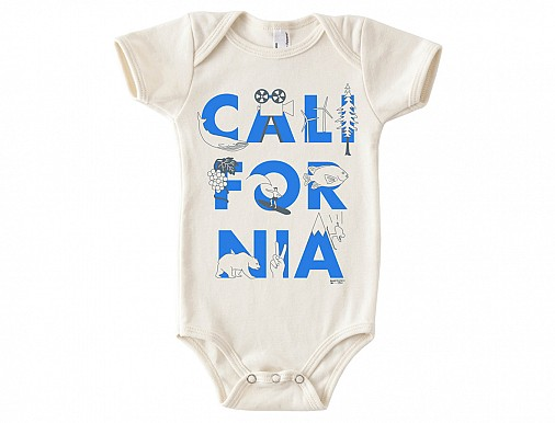 California FONT One-Piece