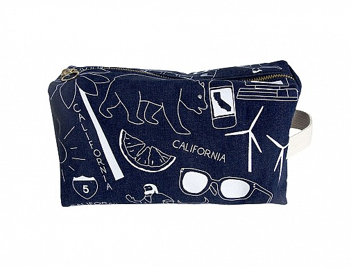 California Dopp Kit - Denim