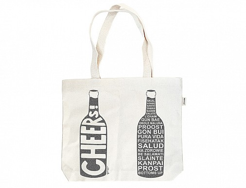 Cheers! Double Wine Tote