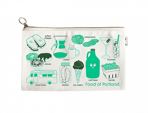 Portland Foodie Slim Pouch Natural