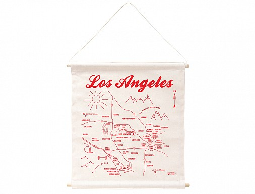 Los Angeles Wall Hanging