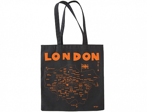 London Black Everyday Tote