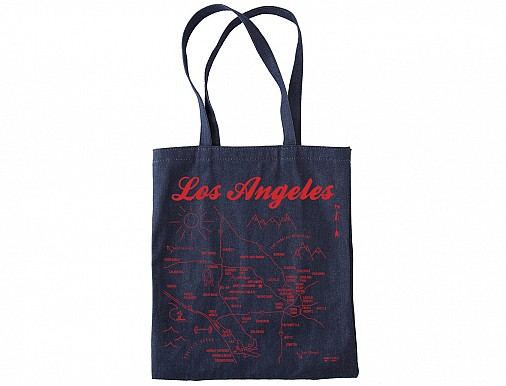 Los Angeles Denim Tote