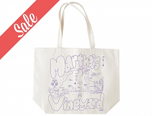 Martha's Vineyard Beach Tote