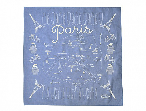 Paris Bandana - Chambray