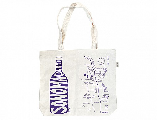 Sonoma County Double Wine Tote