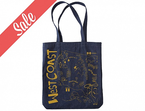 West Coast Denim Market Tote - SALE