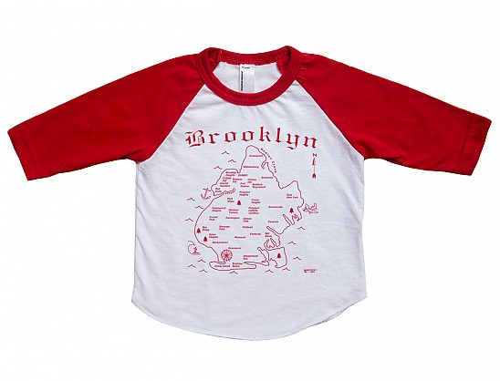 Brooklyn Baby Baseball Tee