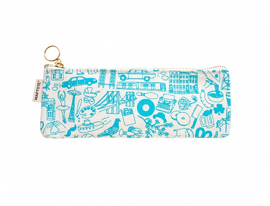 Brooklyn Pencil Pouch Natural