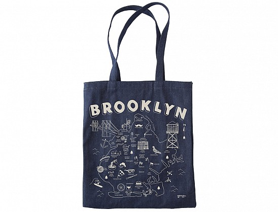 Brooklyn Denim Tote