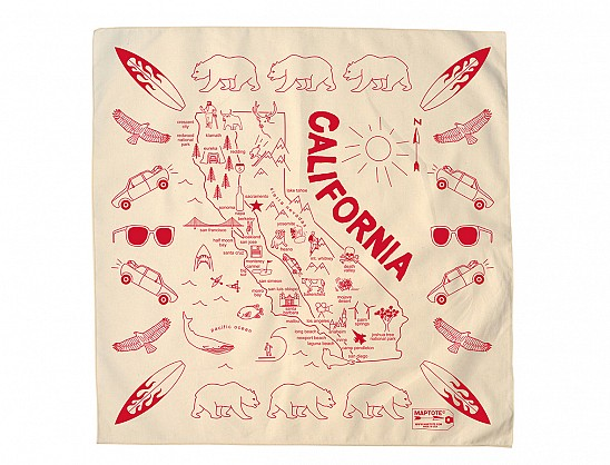 California Bandana - Natural