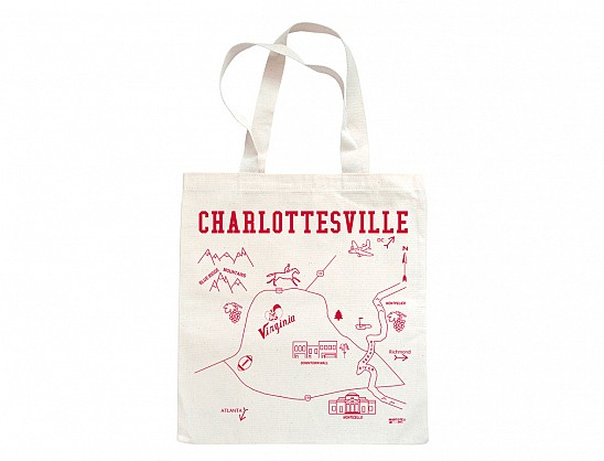Charlottesville Grocery Tote