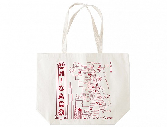 Chicago Beach Tote