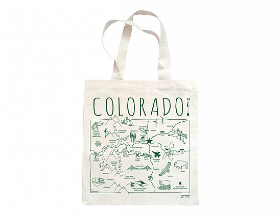 Maptote Colorado Grocery Tote