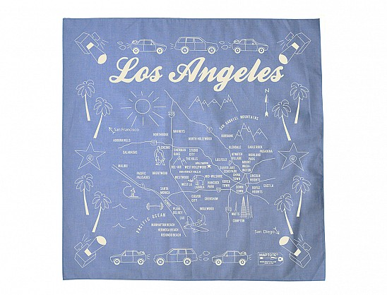 Los Angeles Bandana - Chambray