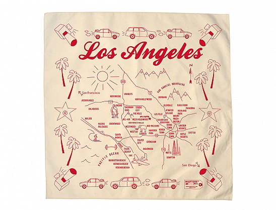 Los Angeles Bandana - Natural