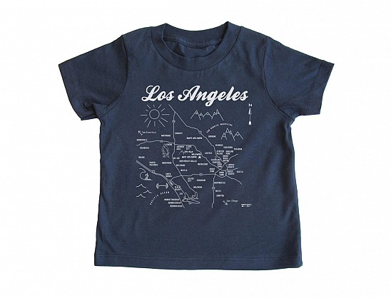 Los Angeles Toddler Tee Navy