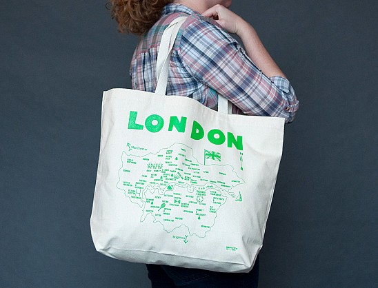 London Beach Tote