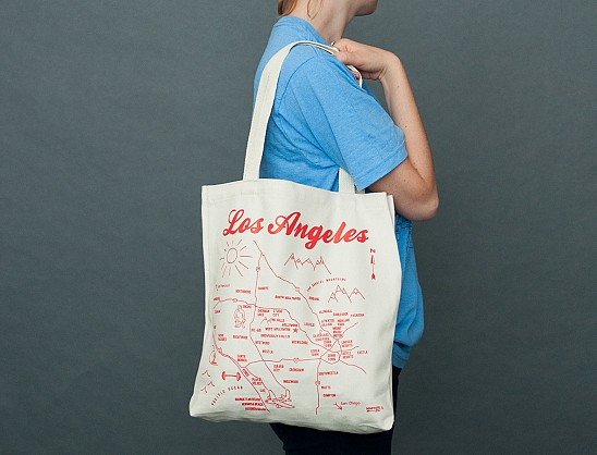 Los Angeles Organic Tote