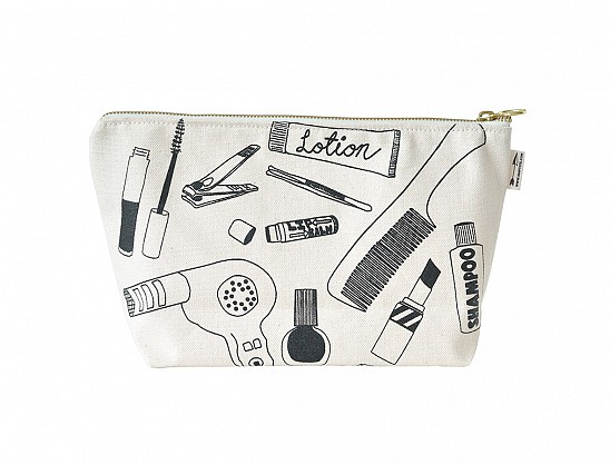 Makeup Pouch - Natural