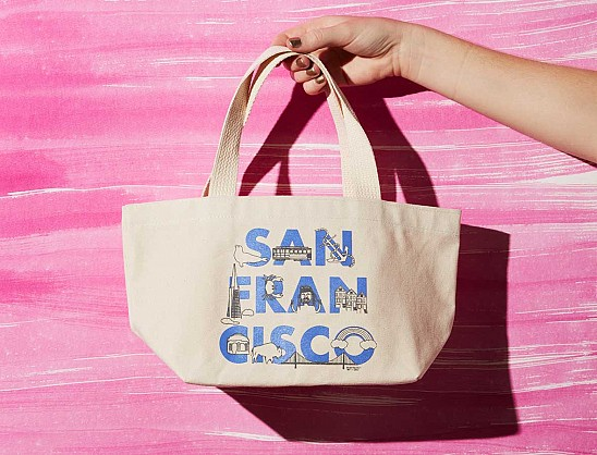 San Francisco FONT Mini Tote