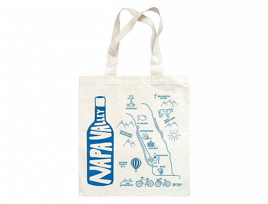 Napa Valley Grocery Tote
