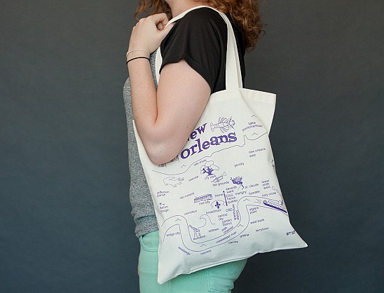 New Orleans Grocery Tote
