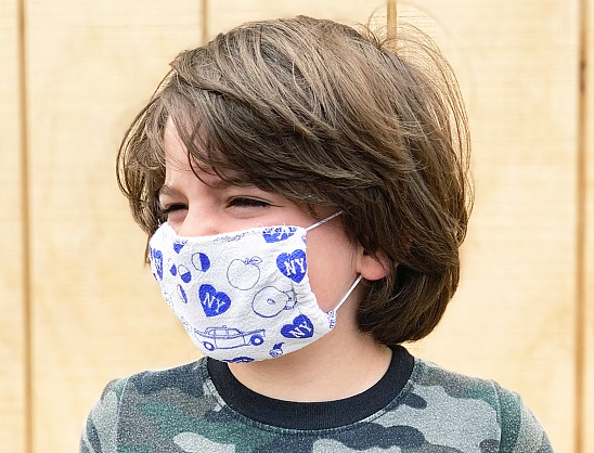 New York City KIDS Face Mask Natural