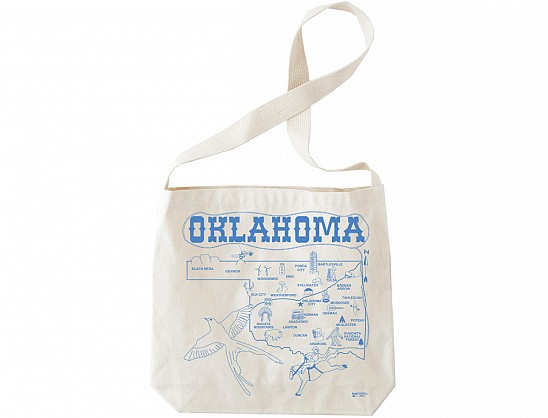 Oklahoma Natural Hobo Tote