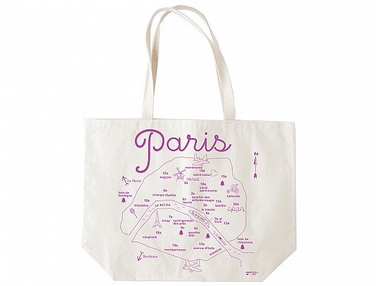 Paris Beach Tote