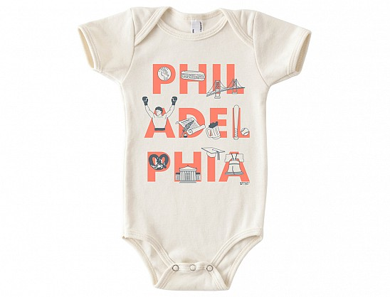 Philadelphia FONT One-Piece