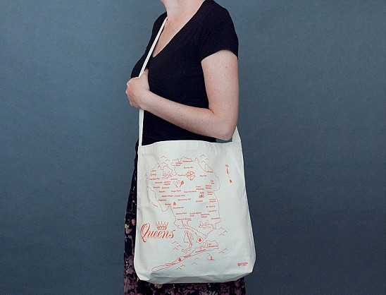 Queens Natural Hobo Tote