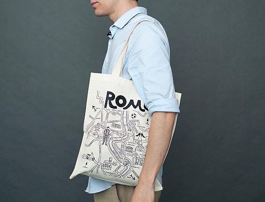 Rome Grocery Tote