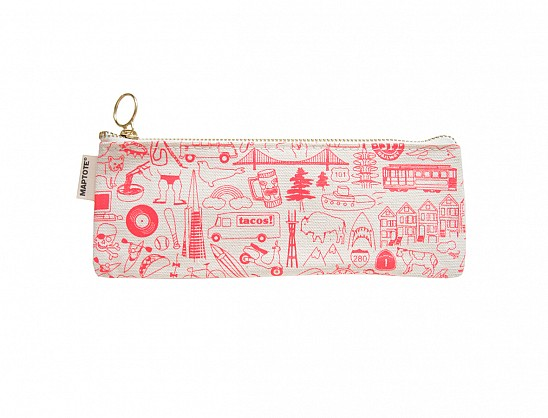 San Francisco Pencil Pouch Natural