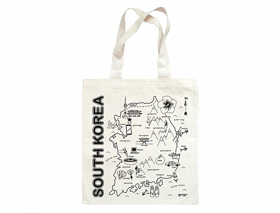 South Korea Grocery Tote
