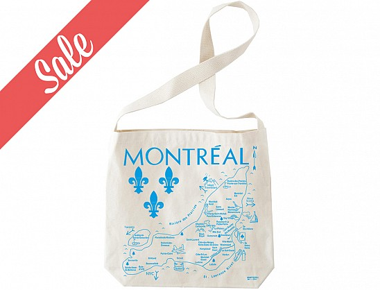 1ab6d682173 Maptote   Montreal Hobo Tote - SALE