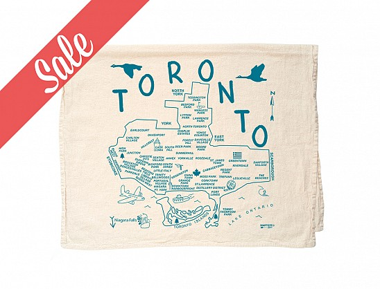 Toronto Tea Towel - SALE